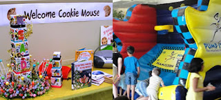 Cookie Mouse; Bounce House