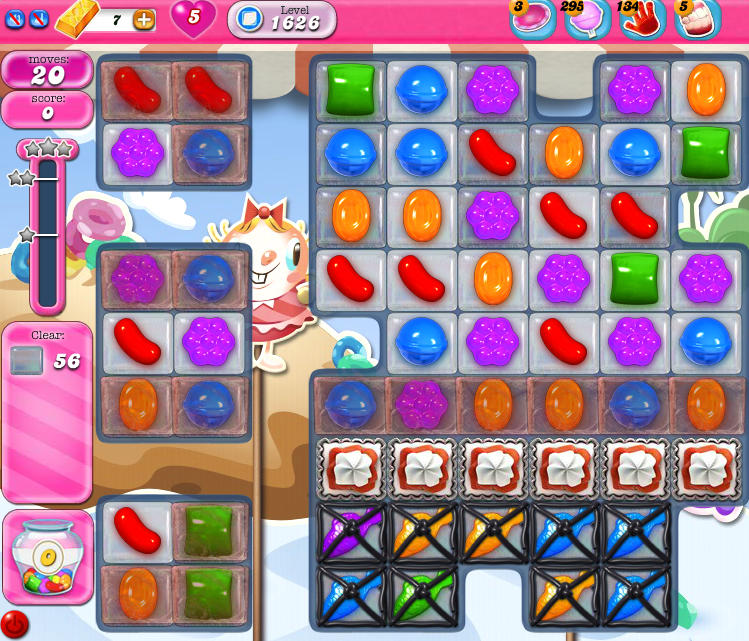 Candy Crush Saga 1626