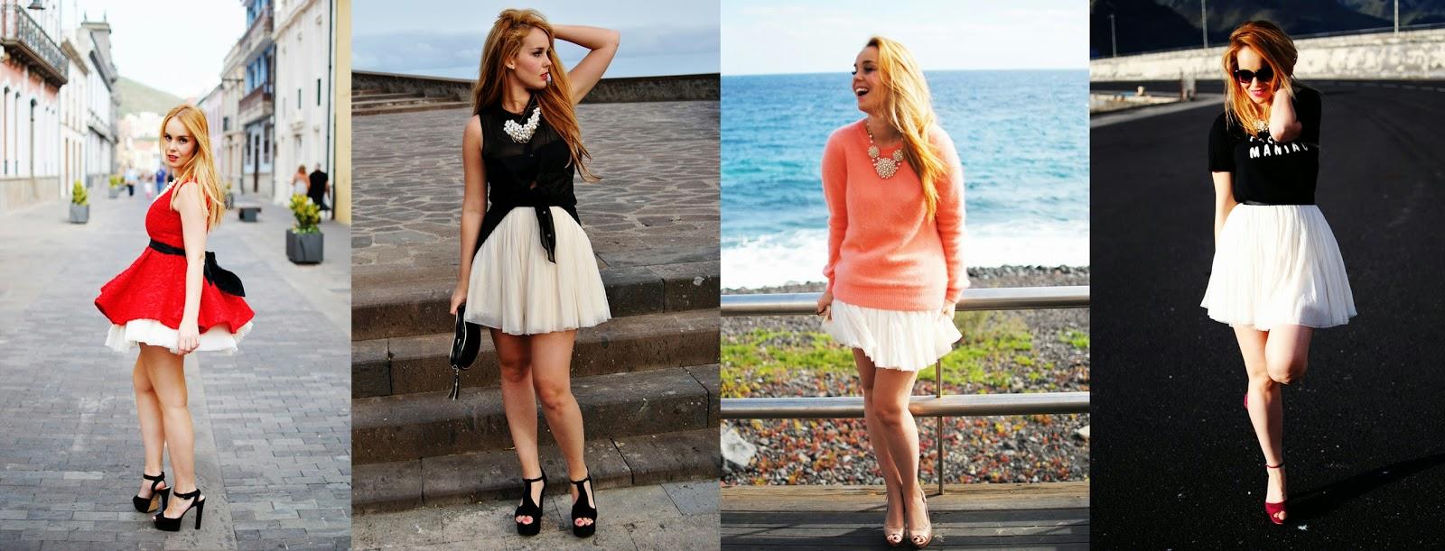 nery hdez, white tutu, tutu, tuú girl, blonde , bloguera de tenerife