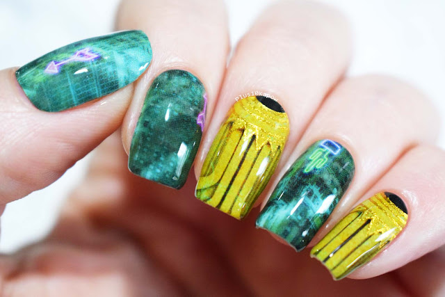 Espionage Cosmetics Twisted Utopia Bioshock nerdy gamer nails