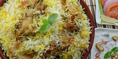 सोपा चिकन पुलाव - पाककला   Easy Chicken Pulao - Recipe