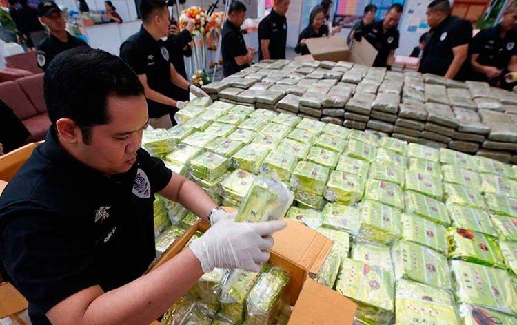 Confiscan en cargamento de droga valuado en 54 mdd