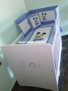 set de cuna mickey