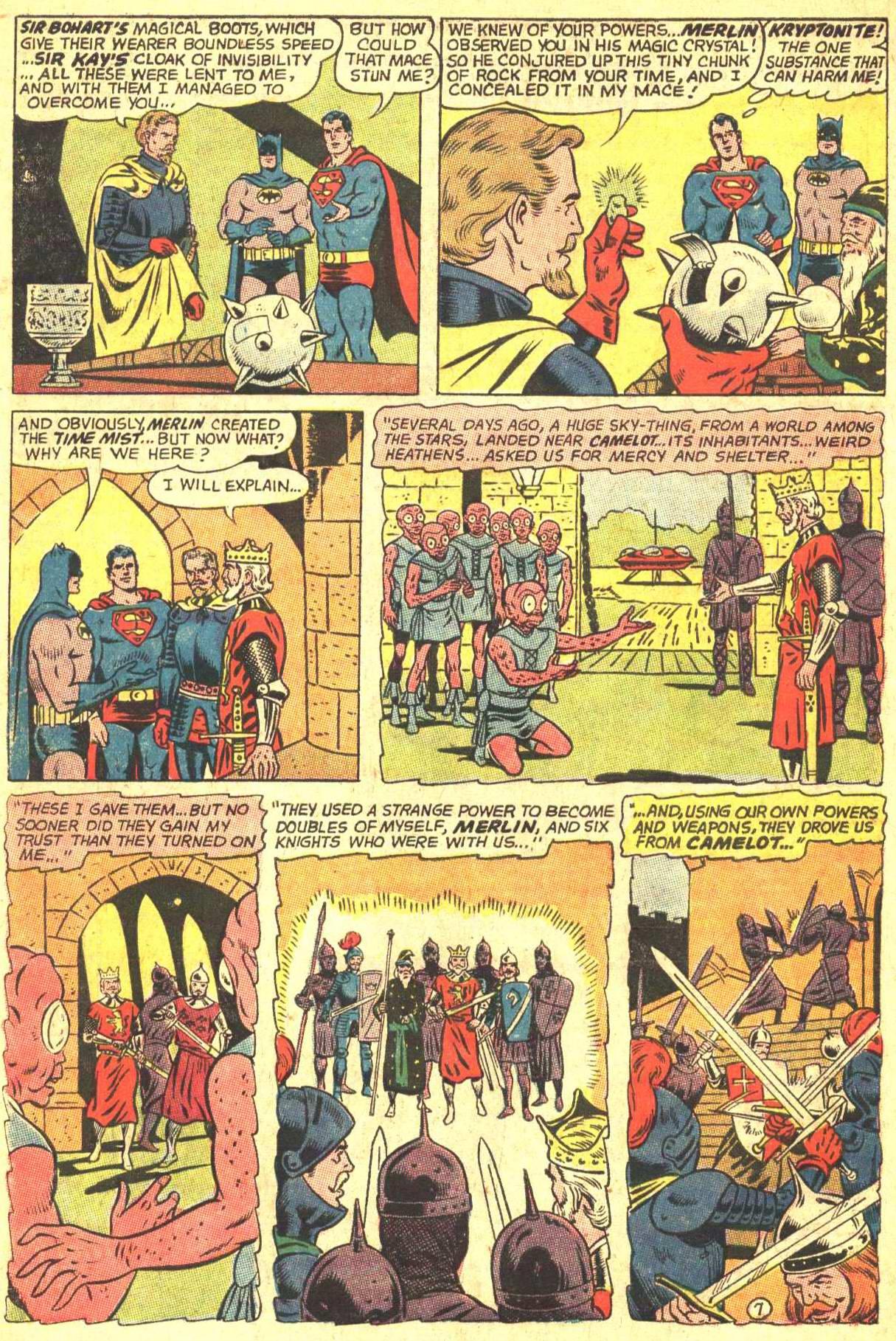 Read online World's Finest Comics comic -  Issue #162 - 10