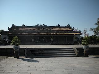 Thai Hoa Palace. Cidadela de Hue (Vietnã)