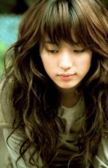 Model gaya potongan rambut segi panjang ala artis korea terbaru a984761de3
