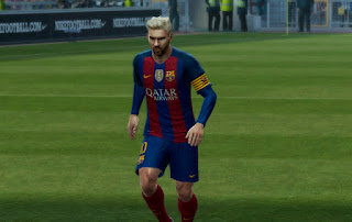 PES 2013 Barcelona Kits 2016-17 UPDATE By Abiel