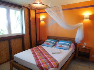 Chambre parentale d'un gite à Lamatéliane, Guadeloupe