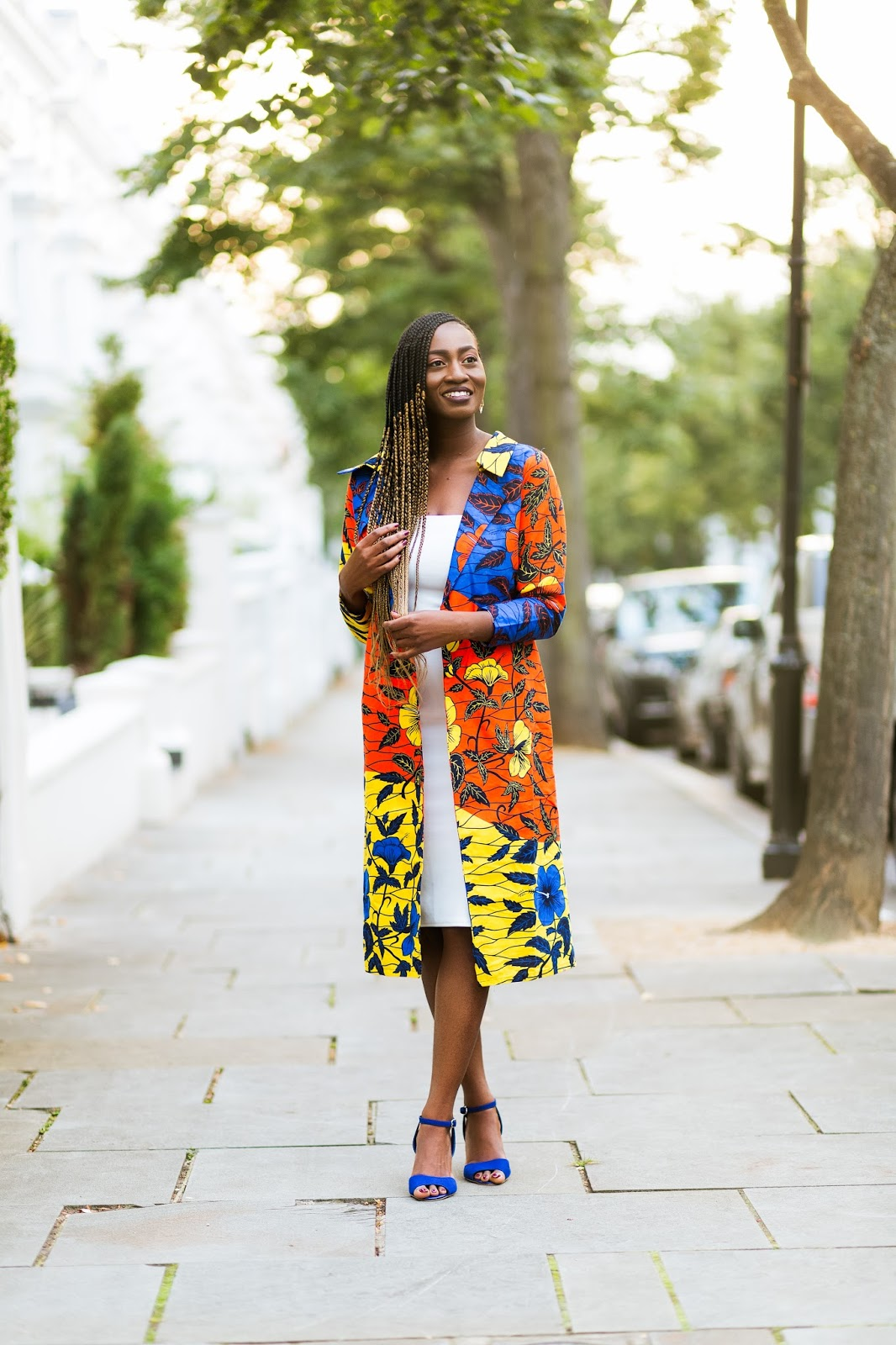 Ankara Jacket Style on London Fashion Blogger