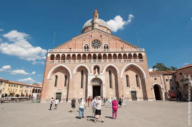 Visitar Basilica San Antonio de Padua Italia viaje turismo