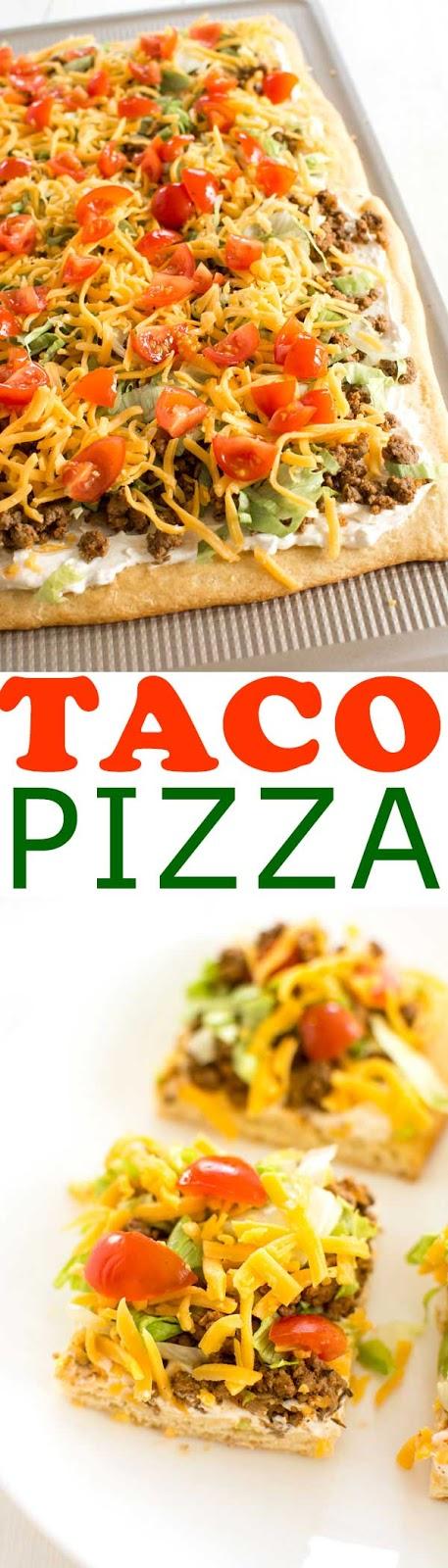 Taco Pízza Recípe