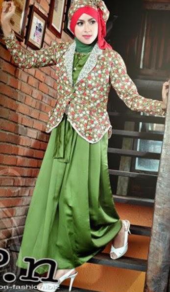16 Contoh Model Gamis Muslimah Trendy Kumpulan Model Baju Muslim