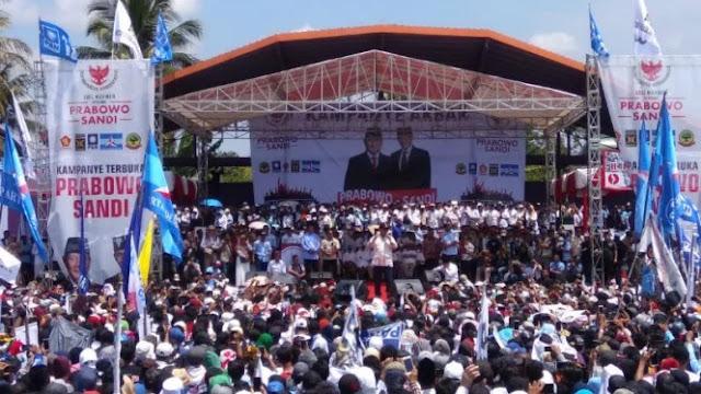 Prabowo Targetkan Perolehan Suara 90 Persen di Jawa Barat