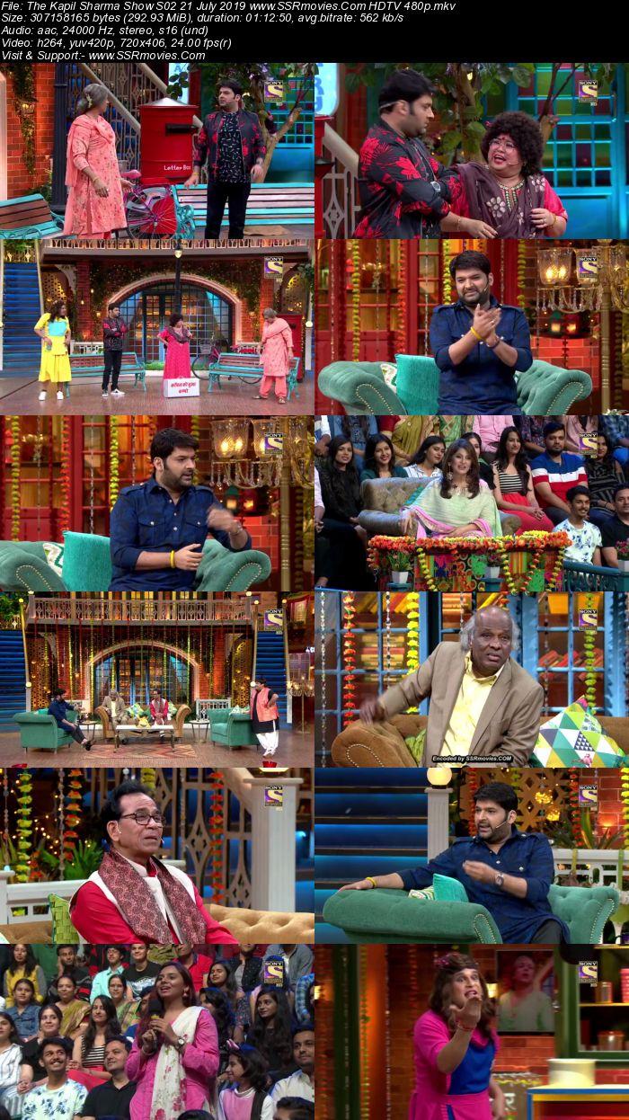 The Kapil Sharma Show S02 21 July 2019 Full Show Download HDTV HDRip 480p