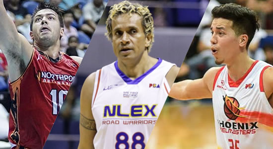 LIST of PBA Players from Canada, Australia, and Tonga as of 2019 PBA Philippine Cup