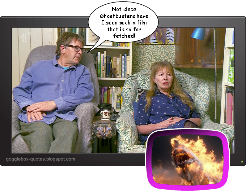 Gogglebox Quotes : Series 13 Episode 10 - Giles & Mary on 'The