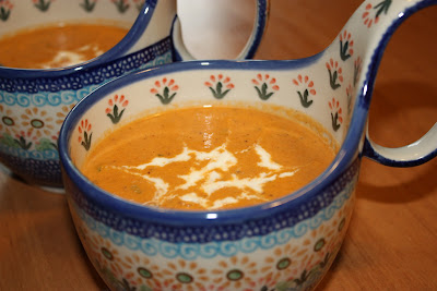 Zupa Pomidorowa Tomato Soup, a delicious hot soup with many layers of flavor!
