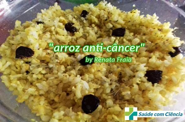 Arroz anti-câncer (arroz que previne câncer)