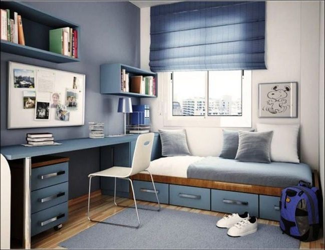 Foto Desain Kamar Tidur Sederhana Ukuran 2x3