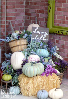 DIY Fall decor ideas for your porch, doorway or piazza