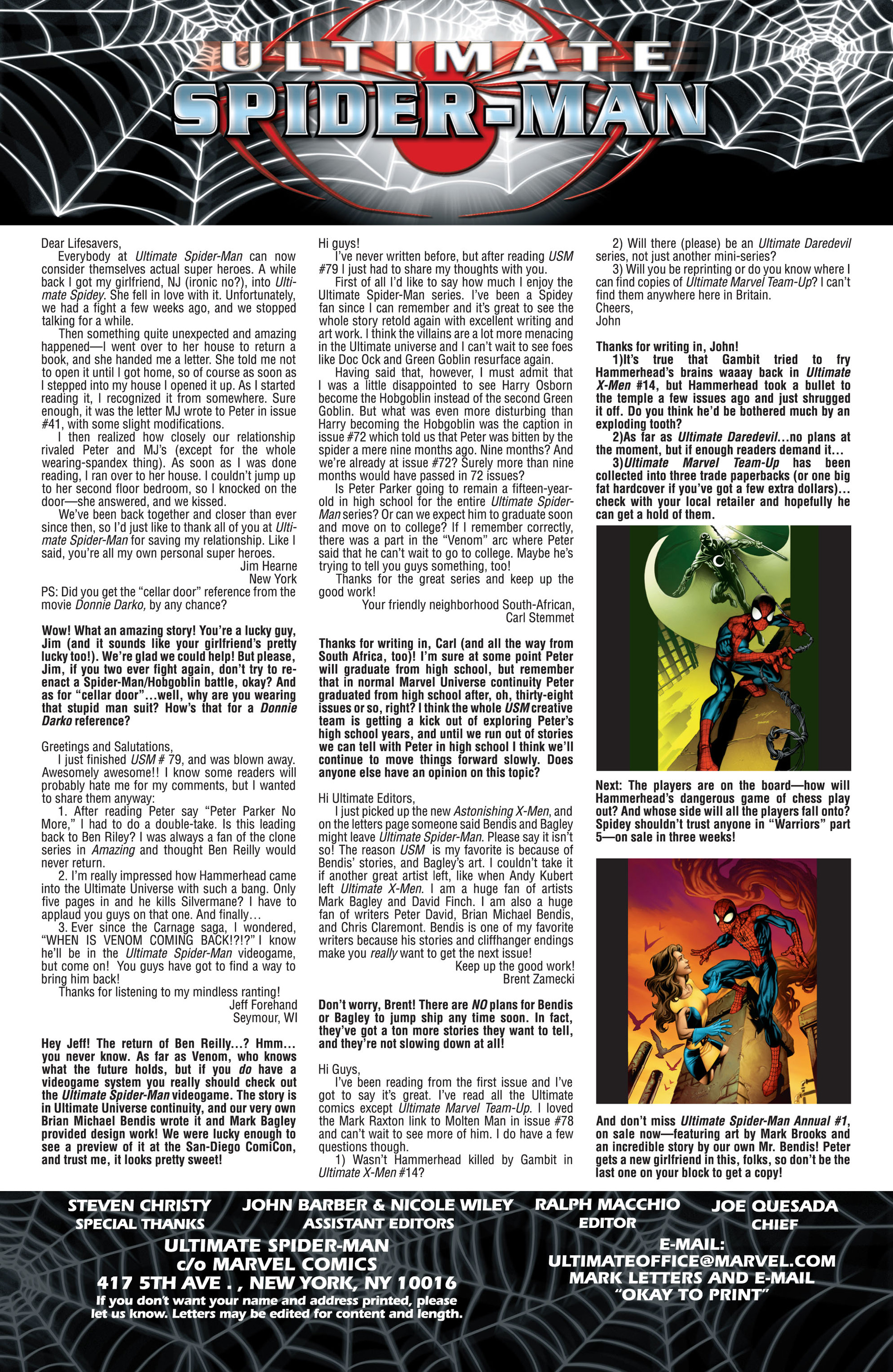 Read online Ultimate Spider-Man (2000) comic -  Issue #82 - 22