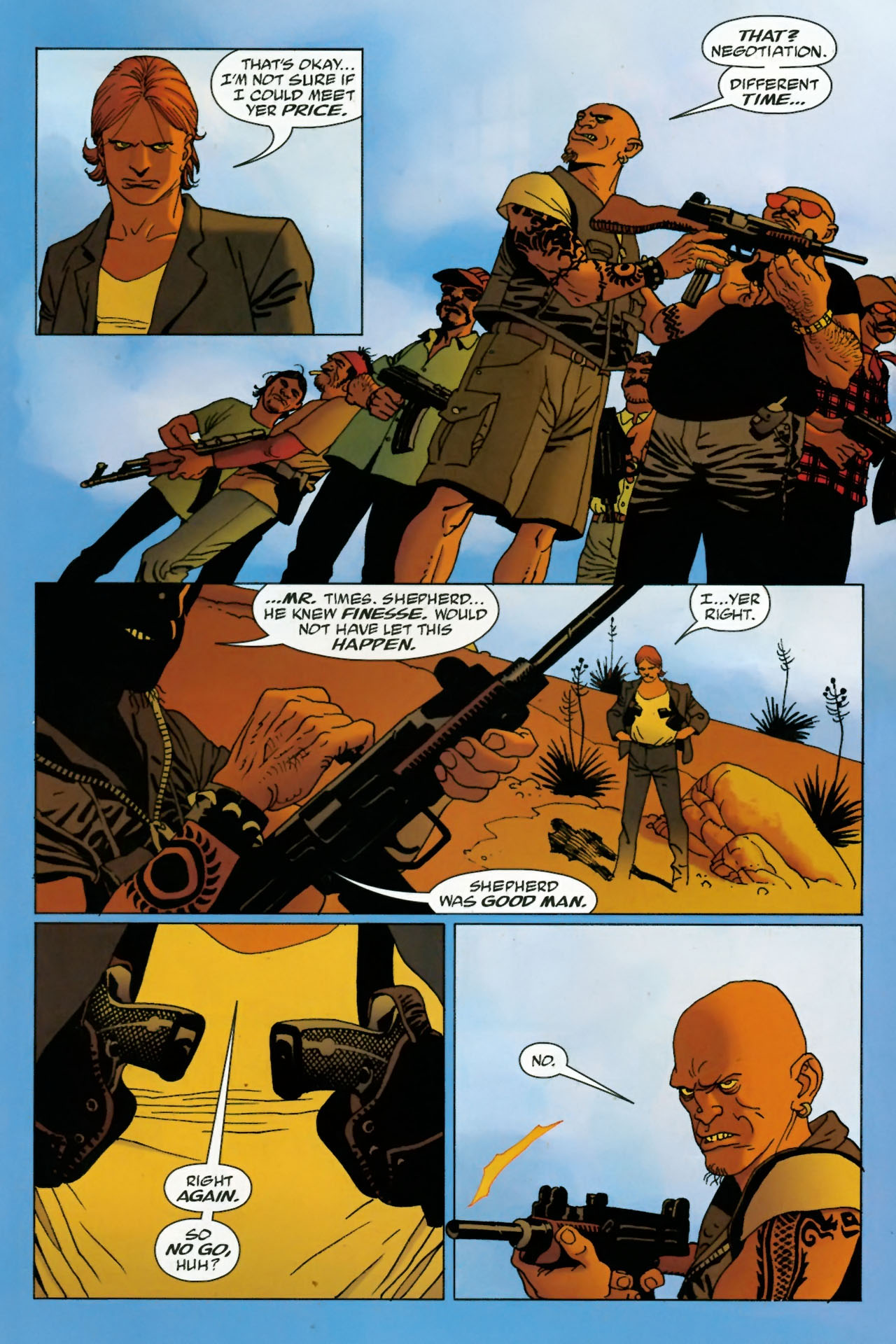 Read online 100 Bullets comic -  Issue #77 - 20