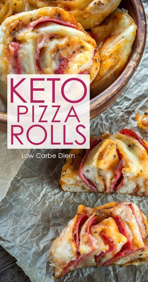KETO PIZZA ROLLS #KETO #PIZZA #LOWCARB
