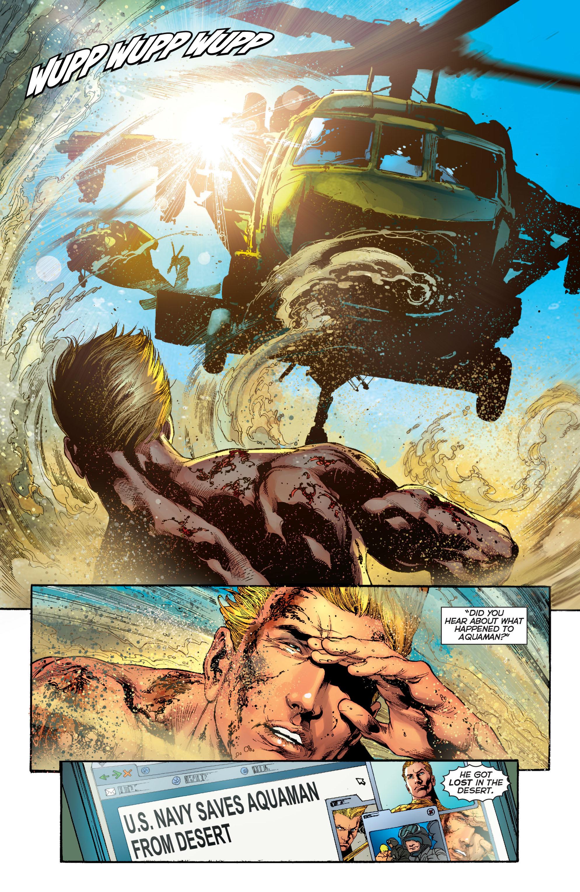 Read online Aquaman (2011) comic -  Issue #5 - 22