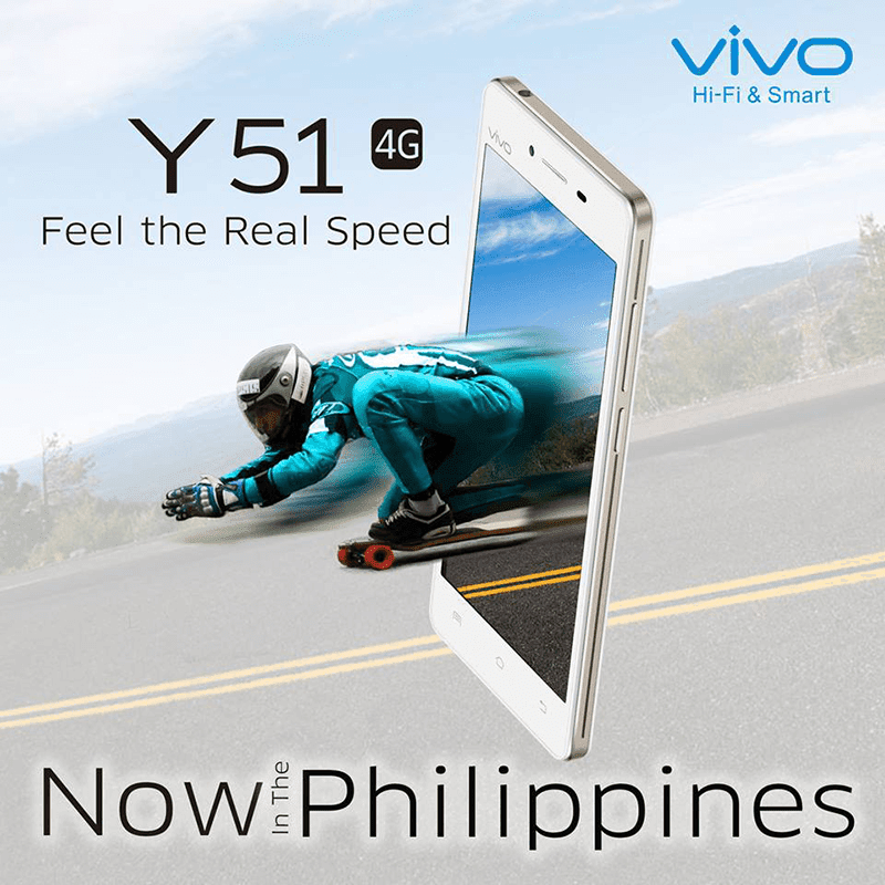 Vivo Y51 retails at 7,990 Pesos