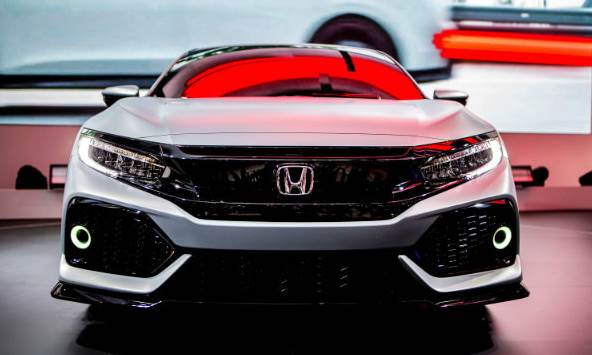 2017 Honda Civic Hatchback Debuts Auto Honda Rumors