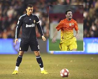 Ayam Aduan ala Ronaldo vs Messi