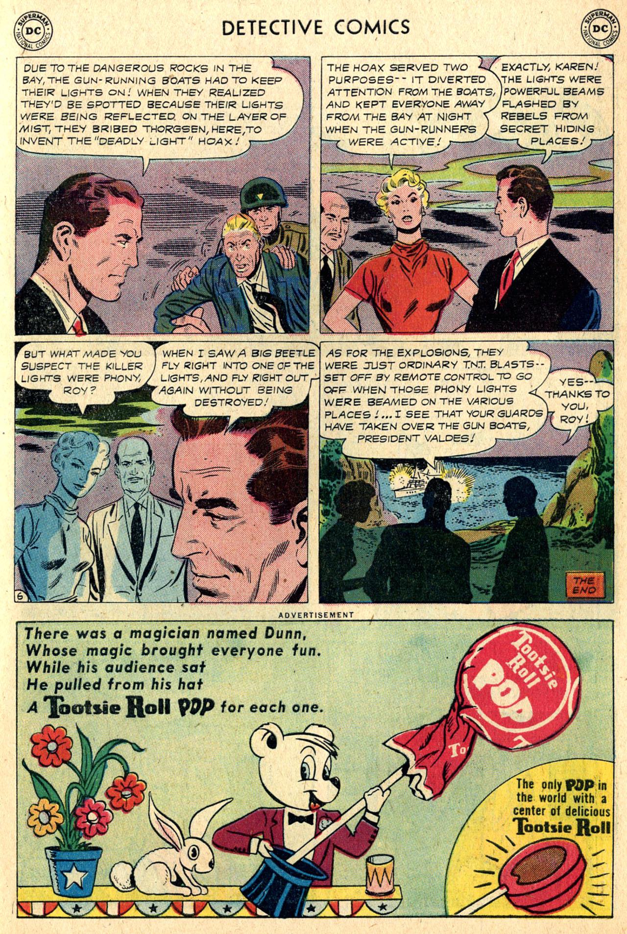 Read online Detective Comics (1937) comic -  Issue #265 - 23