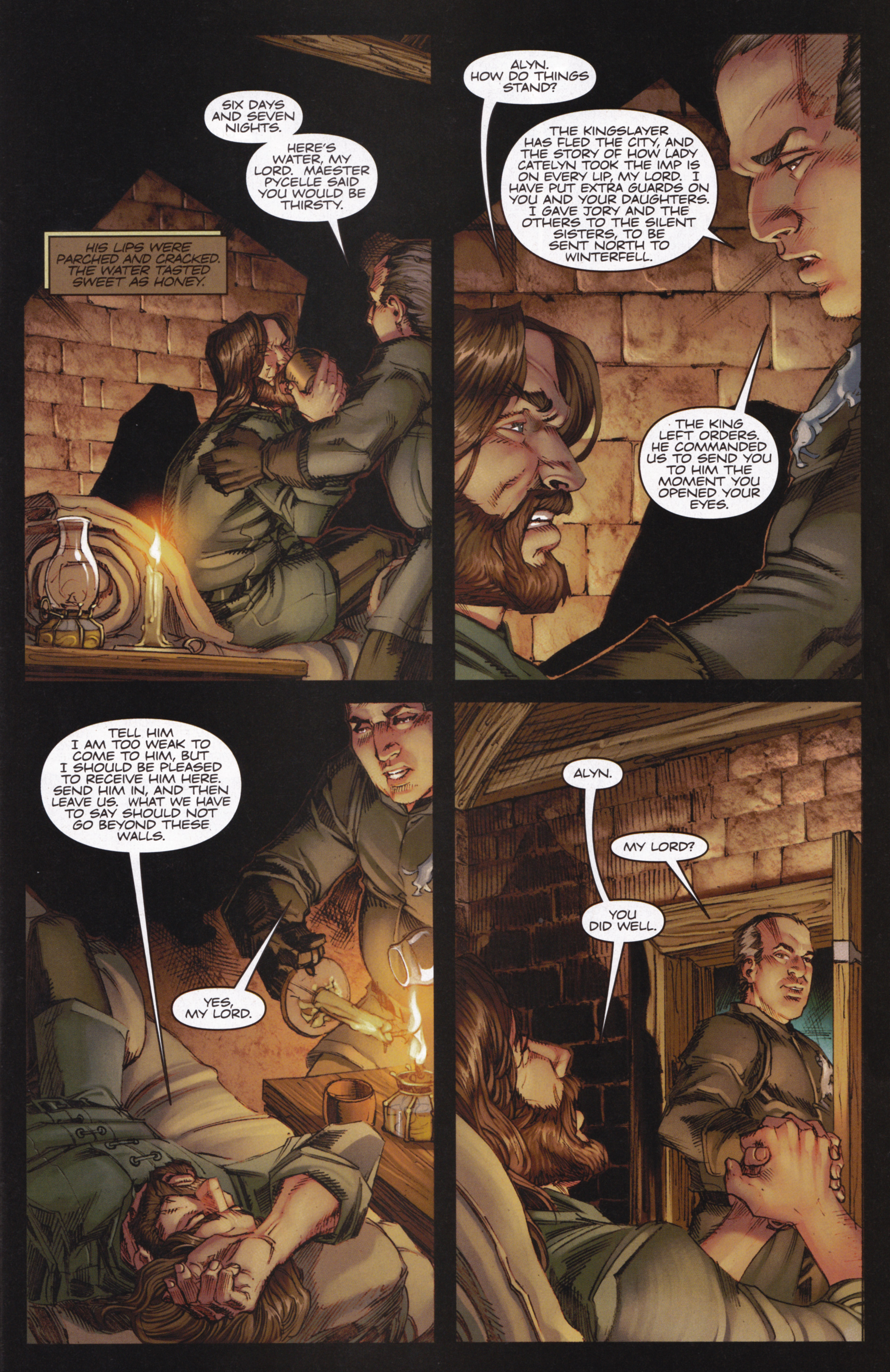 Read online A Game Of Thrones comic -  Issue #13 - 5