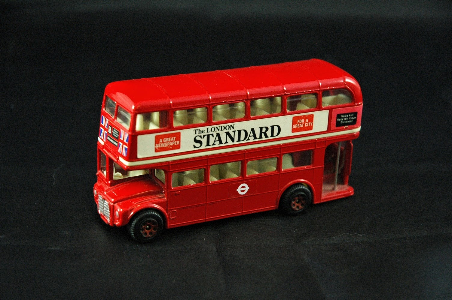 corgi double decker bus