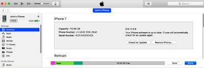 Update iOS 11