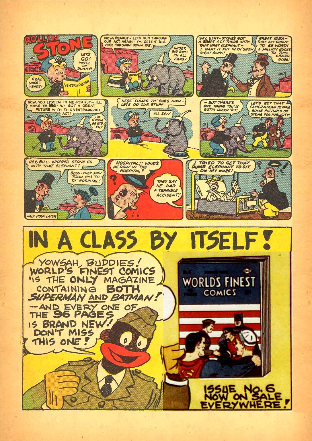 Read online Action Comics (1938) comic -  Issue #50 - 56