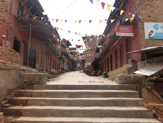 l'ingresso a Changu Narayan