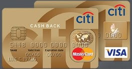Cartão Citibank Cash Back Gold