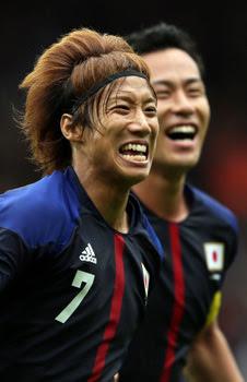 ロンドンオリンピック日本対スペイン