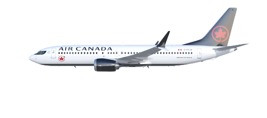 Air Canada's New Boeing 737 MAX Enters Regular Service