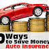 10 Ways To Save On Car Insurance