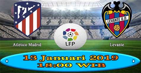 Prediksi Bola855 Atletico Madrid vs Levante 13 Januari 2019