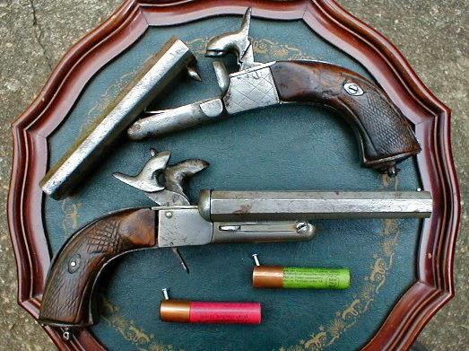 Pistolet howdah à broche