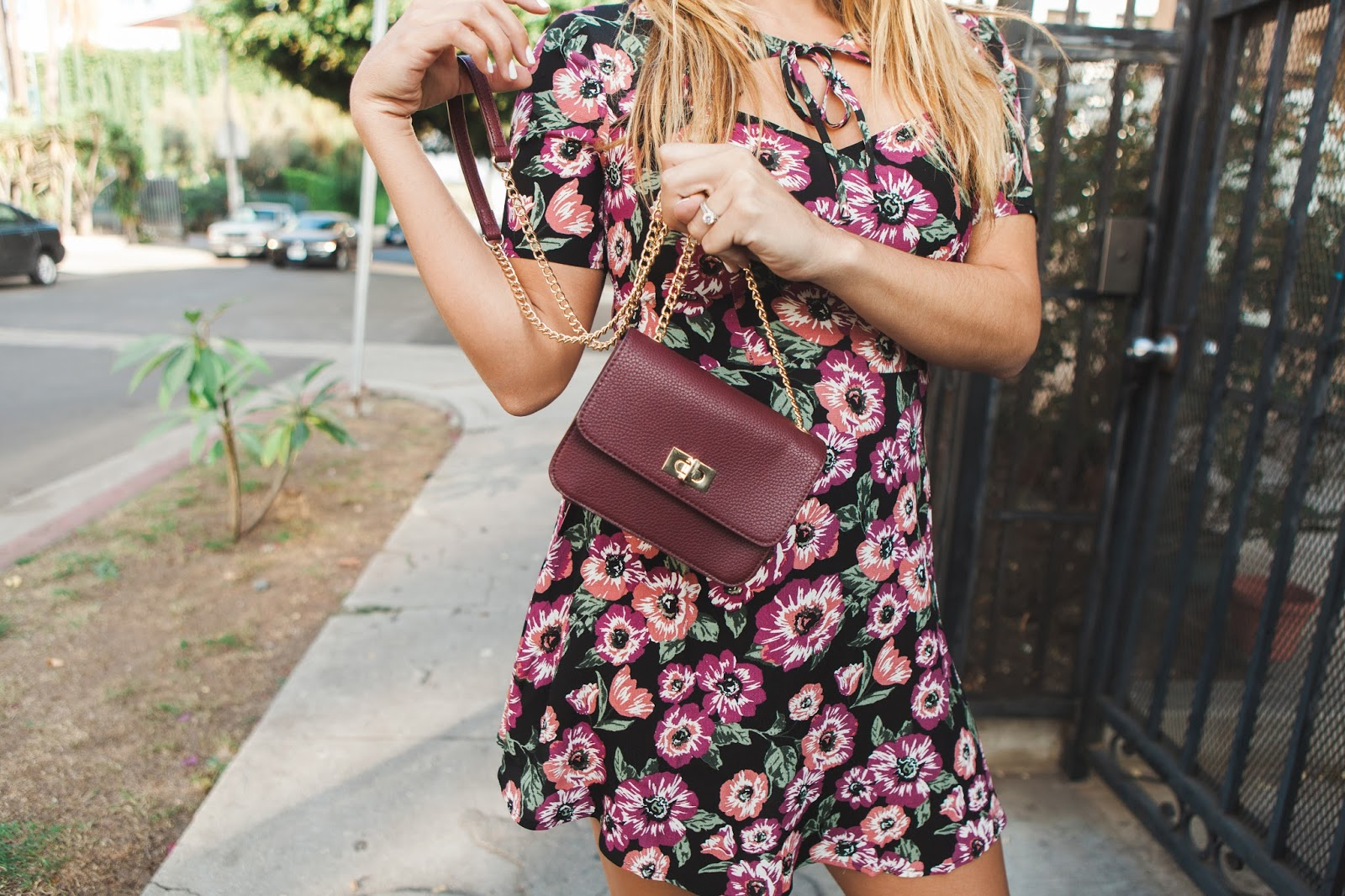 Forever 21 Floral Dress -- Taylor Winkelmeyer