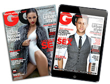 Interview with Raynard Tissink p122-123 of July GQ