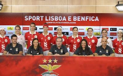 Benfica Modalidades Femininas Hóquei Patins