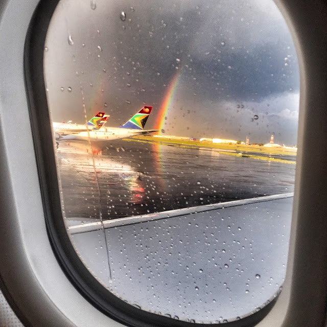 airport airplane chaos johannesburg