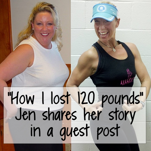 How Jen Small lost 120 pounds