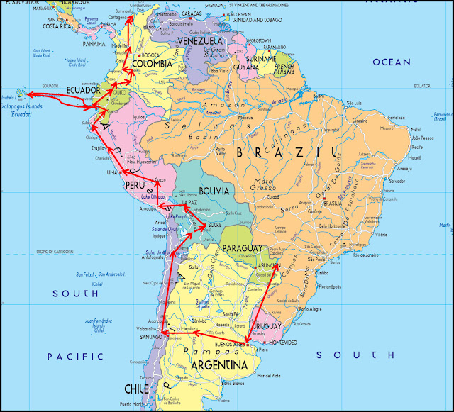 Traveling To South America