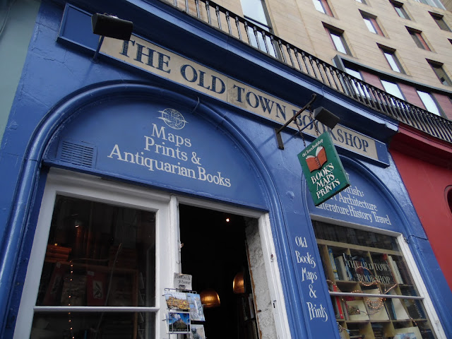 old bookshop in edinburgh old town